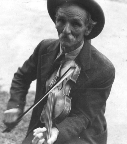 Fiddlin' Bill Hensley, ons logo